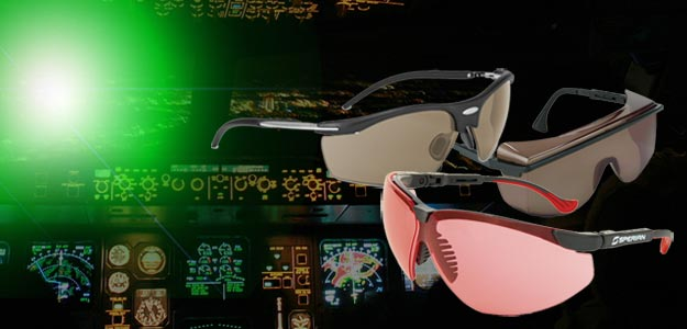 Laser-Gard® Eyewear for Pilots