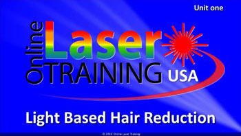 Laser and Light Based Hair Reduction Course Combo for Clinical Aestheticians & Non-Medical Users