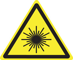 "International Warning-Hazard Label ..1 15/16"" x 1 5/8"""