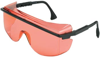 Laser Blocking Sunglasses, LOTG Frame, Salmon