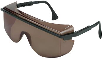 Laser Blocking Sunglasses, LOTG Frame, Bronze
