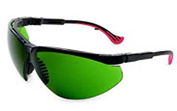 Non-Laser Intense Pulse Light Eyewear. XC Frame With Light Green Filter