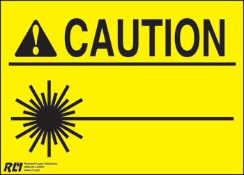Paper Blank Caution Sign