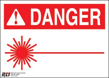 Paper Blank Danger Sign